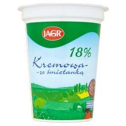 Kremowa ze śmietanką 18% Ukwaszona emulsja tłuszczow...