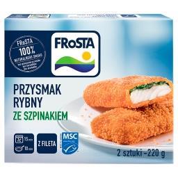 Przysmak rybny z fileta ze szpinakiem 220 g (2 sztuk...
