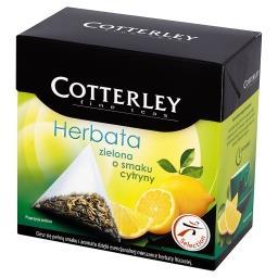 Herbata zielona o smaku cytryny