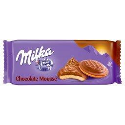 Choco Jaffa Biszkopty z pianką o smaku czekoladowym oblewane czekoladą mleczną