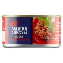 Sałatka z tuńczyka w sosie pomidorowym
