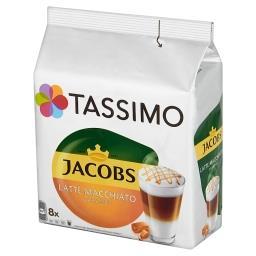 Jacobs Latte Macchiato Caramel Kawa mielona 8 kapsułek i mleko 8 kapsułek