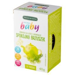 Herbi Baby Suplement diety herbatka spokojny brzuszek 40 g (20 x )
