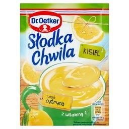Słodka Chwila Kisiel smak cytryna