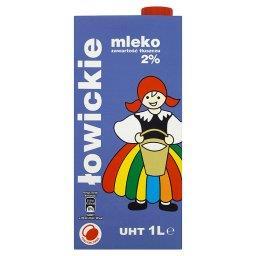 Mleko łowickie UHT 2% 1 l