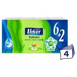 Balsam Chusteczki higieniczne ekstrakt z aloesu i nagietka 8 x 10 sztuk