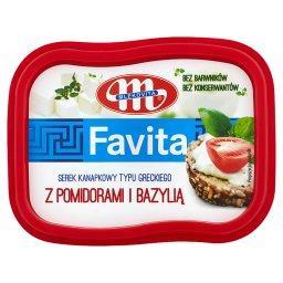 Favita Serek kanapkowy typu greckiego z pomidorami i...