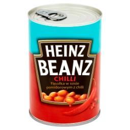 Beanz Fasolka w sosie pomidorowym z chilli