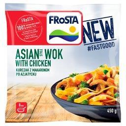 Asian Style Wok with Chicken Kurczak z makaronem po ...