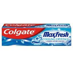Max Fresh Cooling Crystal pasta do zębów mocna mięta