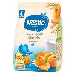 Kaszka mleczno-ryżowa morela dla niemowląt po 4. mie...