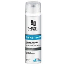 Men Sensitive Żel do golenia nawilżający dla skóry b...