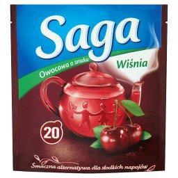 Herbatka owocowa o smaku wiśnia 3 (20 torebek)