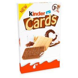 Cards Wafel wypełniony mlecznym i kakaowym nadzienie...