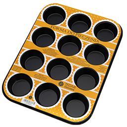 Forma do pieczenia na 12 muffinek 35,5 cm x 26,5 cm