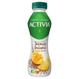 Jogurt siemię lniane mango ananas