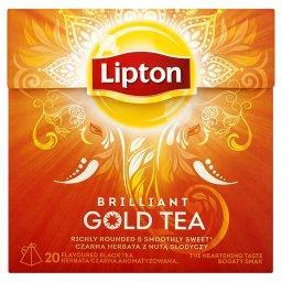 Brilliant Gold Tea Herbata czarna aromatyzowana  (20 torebek)