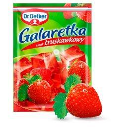 Galaretka o smaku truskawkowym