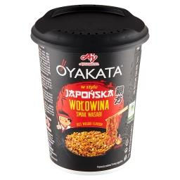 Danie instant z sosem w stylu japońska wołowina smak...