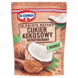Ze świata natury Cukier kokosowy nierafinowany