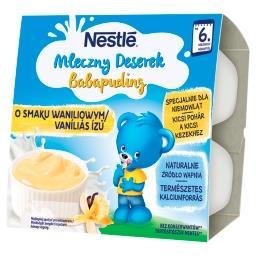Mleczny Deserek o smaku waniliowym dla niemowląt po ...