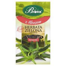 Z Aloesem Herbata zielona liściasta