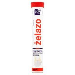 Żelazo Tabletki musujące Suplement diety 96 g (24 tabletki)