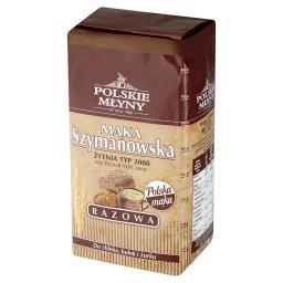 Mąka Szymanowska Razowa żytnia typ 2000
