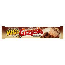 Mega Kakaowe Wafel przekładany kremem kakaowym