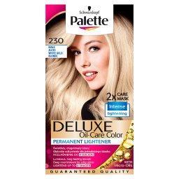 Deluxe Oil-Care Color Farba do włosów Białe złoto 230