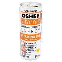 Vitamin Energy Witamina D+K Napój gazowany o smaku mięta limonka cytryna