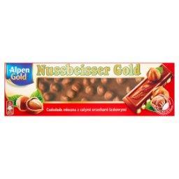 Nussbeisser Gold Czekolada mleczna z całymi orzecham...