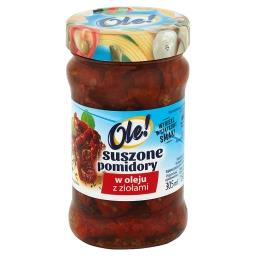 Suszone pomidory w oleju z ziołami