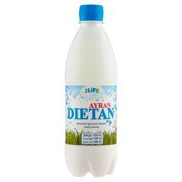 2Life Ayran Dietan Naturalnie gazowany kwaśny napój mleczny