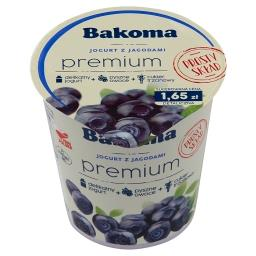Premium Jogurt z jagodami