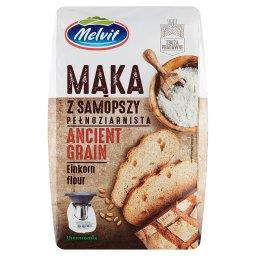 Mąka z samopszy pełnoziarnista