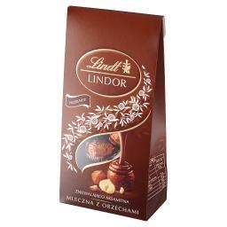 Lindor Praliny z czekolady mlecznej z orzechami lask...