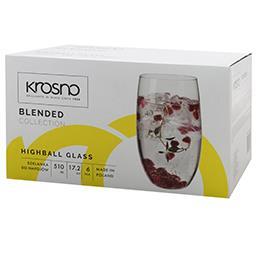 Szklanki do napojów Blended 510ml kpl. 6 sztuk
