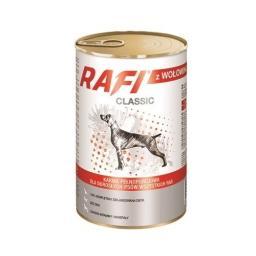Mokra karma dla psa z wołowiną puszka 1240 g