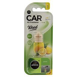 Samochodowy odświeżacz powietrza Wood Lemon 6ml