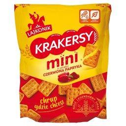 Krakersy mini o smaku czerwona papryka 100 g