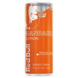 Napój energetyczny mandarynka