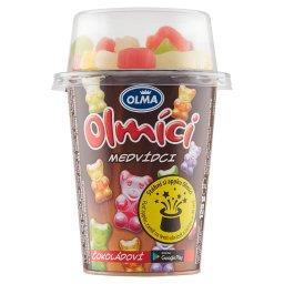 Olmici Jogurt o smaku czekoladowym z żelkami