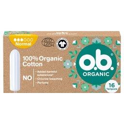 Organic Normal Tampony 16 sztuki