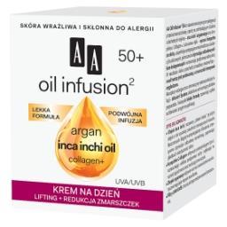 Oil Infusion2 50+ krem na dzień lifting + redukcja zmarszczek 50 ml