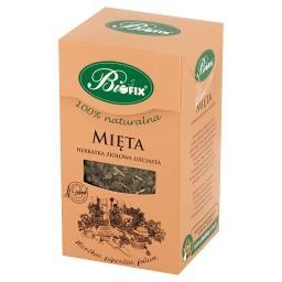 Herbatka ziołowa liściasta mięta