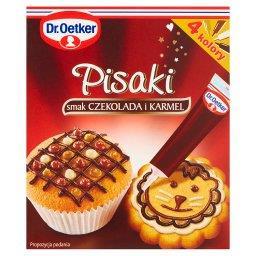 Pisaki smak czekolada i karmel  (4 x 19 g)
