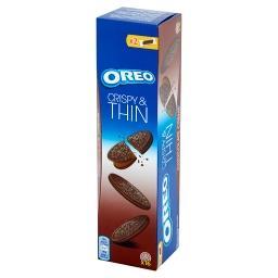 Crispy & Thin Ciastka kakaowe z nadzieniem o smaku czekoladowym  (16 sztuk)