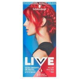Live Ultra Brights or Pastel Farba do włosów Pillar ...