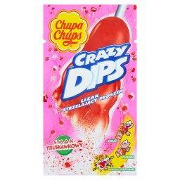 Crazy Dips Lizak ze strzelającym proszkiem smak trus...
